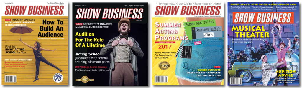 About Show Business Covers